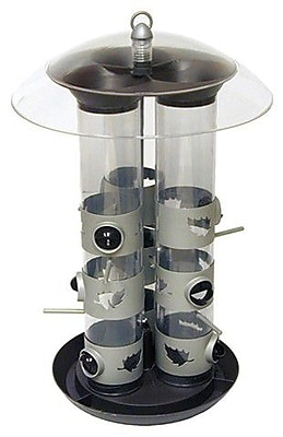 Perky Pet Triple Tube Bird Feeder (WYF078276233639) photo