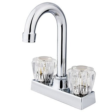 Kingston Brass Vista Double Handle Centerset Bar Faucet