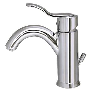 Whitehaus Collection Galleryhaus Single Hole Bathroom Faucet w/ Single Handle; Polished Chrome