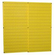 Wall Control Pegboard Panel (Set of 2); Yellow