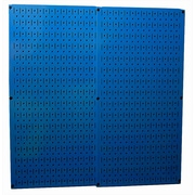 Wall Control Pegboard Panel (Set of 2); Blue