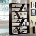 Hokku Designs Donnia Open Zig Zag 70.75'' Bookcase