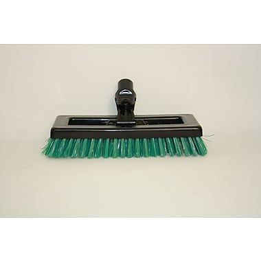 SYR Swivel Deck Brush BLK Bristles; Green