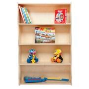 Contender 46.75'' Standard Bookcase; Assembled