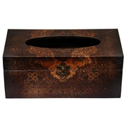 Oriental Furniture Olde-Worlde European Tissue Box