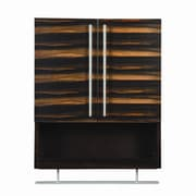 DecoLav Mila 26'' x 22'' Wall Mounted Cabinet; Ebony and Espresso