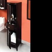 DecoLav Gavin 18'' x 72'' Linen Tower Cabinet; Espresso