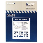 "Chartpak Drafting & Design Matte Clear Film, 8-1/2"" x 11, 100 Sheets"