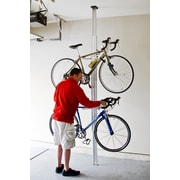 Gear Up Inc. Signature Series 4 Bike Storage Ceiling Mounted Bike Rack; Sliver