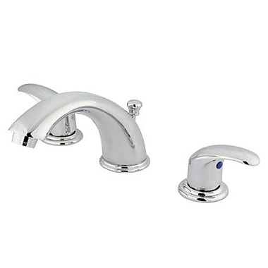 Elements of Design Daytona Widespread Bathroom Faucet w/ Double Lever Handles; Polished Chrome