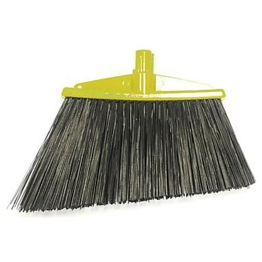 SYR Angle Broom with Bristles; Yellow