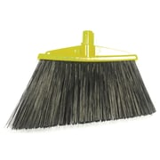 SYR Angle Broom w/ Bristles; Yellow