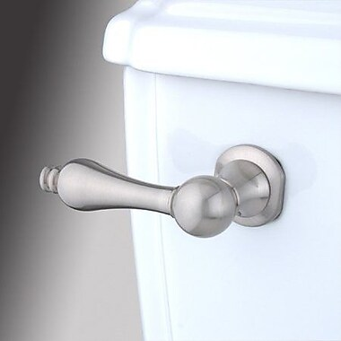 Elements of Design Decorative Metal Tank Lever Arm; Satin Nickel