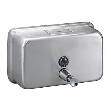 Bradley Corporation Surface-Mounted Horizontal Soap Dispenser