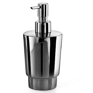 WS Bath Collections Napie Soap Dispenser; Polished Chrome / Stainless Steel