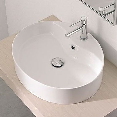 Scarabeo by Nameeks Wind Above Counter Single Hole Bathroom Sink