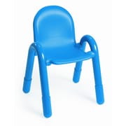 Angeles Baseline 13'' PVC Classroom Chair; Ocean Blue