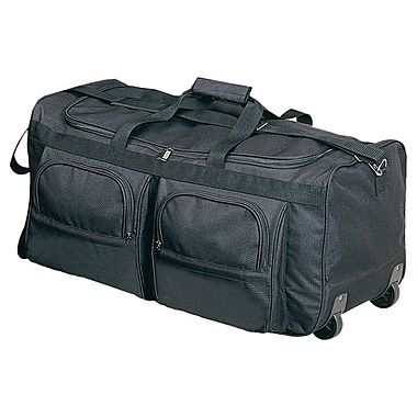 Preferred Nation 29'' 2-Wheeled Travel Duffel; Black
