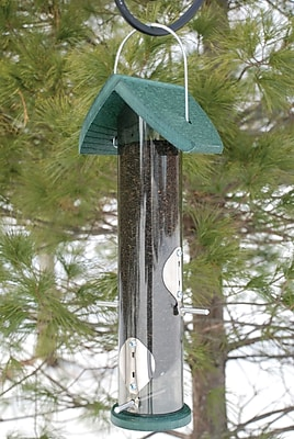 Woodlink Audubon Going Nyjer Tube Bird Feeder (WYF078276490323) photo