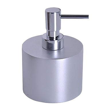 Gedy by Nameeks Piccollo Soap Dispenser; Silver