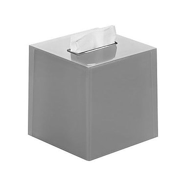 Gedy by Nameeks Rainbow Tissue Box Cover; Silver