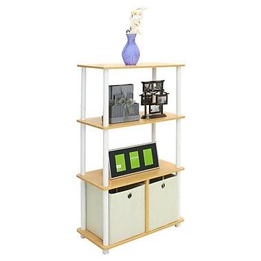Furinno 43.5'' Bookcase; Steam Beech
