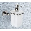Gedy by Nameeks Minnesota Woods Porcelain Soap Dispenser; Chrome