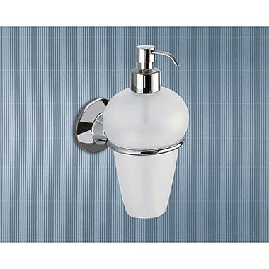 Gedy by Nameeks Ascot Frosted Glass Soap Dispenser