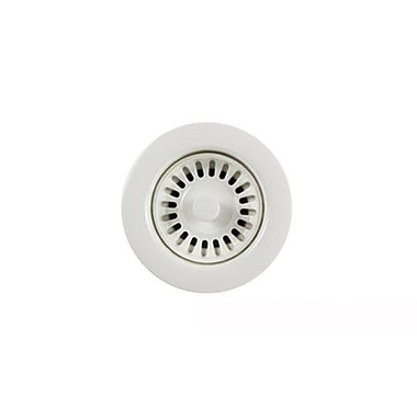 Houzer Color Disposal Flange 3.5' Opening; Polar White