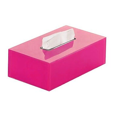 Gedy by Nameeks Rainbow Tissue Box Cover; Fuchsia