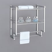 OIA Metro 18.2'' Wall Mounting Rack with Towel Bars