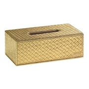 Gedy by Nameeks Marrakech Tissue Box Cover; Gold