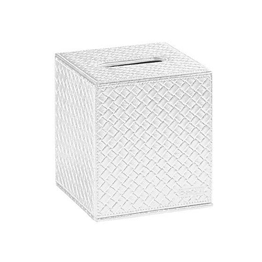 Gedy by Nameeks Marrakech Tissue Box Cover; Pearl White