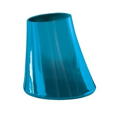 Gedy by Nameeks Flou Toothbrush Holder; Transparent Turquoise