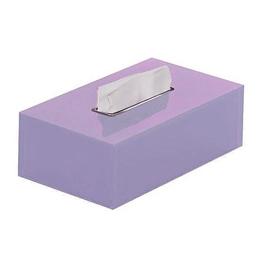 Gedy by Nameeks Rainbow Tissue Box Cover; Lilac