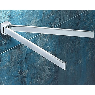 Gedy by Nameeks Glamour Jointed Double Wall Mounted Towel Bar