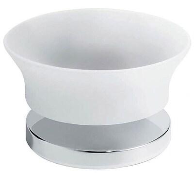 Artos Silaro Vetrilite Free Standing Soap Dish; Chrome WYF078276313583