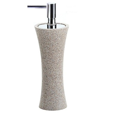 Gedy by Nameeks Flaca Soap Dispenser; Natural Sand