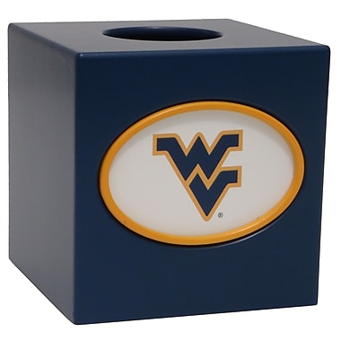Fan Creations NCAA Tissue Box Cover; West Virginia
