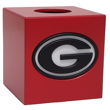 Fan Creations NCAA Tissue Box Cover; Georgia