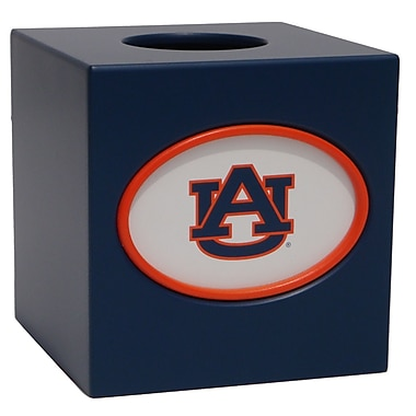 Fan Creations NCAA Tissue Box Cover; Auburn