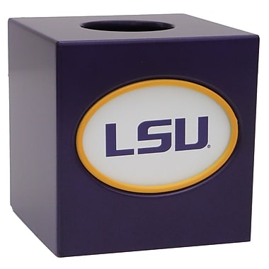 Fan Creations NCAA Tissue Box Cover; LSU