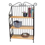 4D Concepts Wicker 37'' Standard Bookcase
