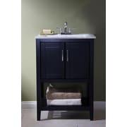 Legion Furniture 23  Bathroom Vanity Set; Espresso