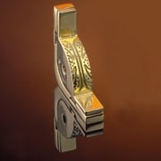 Zoroufy Dynasty 72'' Fluted Tubular Stair Rod Set w/Decorative Brackets Urn Finials; Polished Brass