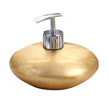 Gedy by Nameeks Almira Soap Dispenser; Gold