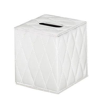 Gedy by Nameeks Palace Tissue Box Cover; White