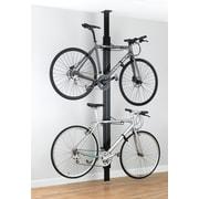 Gear Up Inc. Signature Series 4 Bike Storage Ceiling Mounted Bike Rack; Black