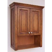Empire Industries Windsor 26.25'' W x 33.93'' H Wall Mounted Cabinet; Cognac