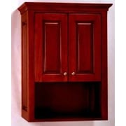 Empire Industries Windsor 26.5'' x 33.93'' Wall Mounted Cabinet; Dark Cherry